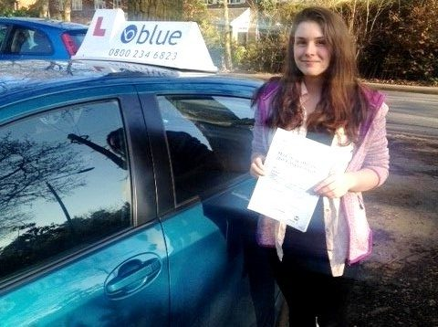 Reading Driving Test pass for Beth Stanley