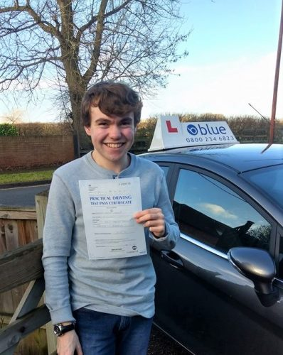 Reading Driving Test pass for Tom Langer