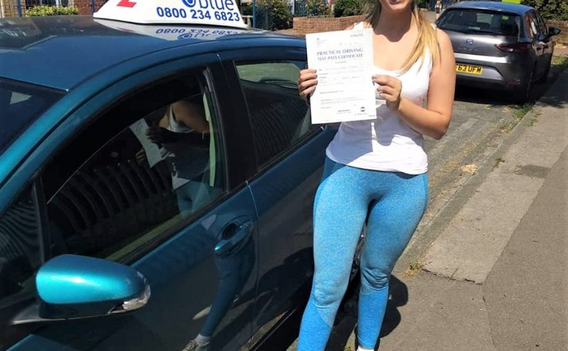 Reading Driving Test pass for Emily Whitaker