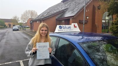 Rode Driving Test pass for Harley Lyons