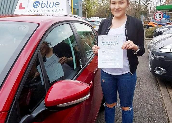 Congratulations to Sam from Bracknell on passing your driving Test today at Chertsey