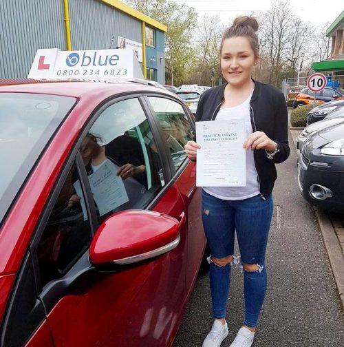 Sam driving lessons in Bracknell