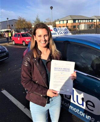 Sandhurst Driving Test Pass Victoria Brewer