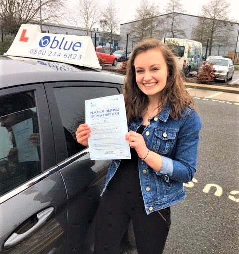 Congratulations to Katie Youster from Sandhurst on passing her driving test