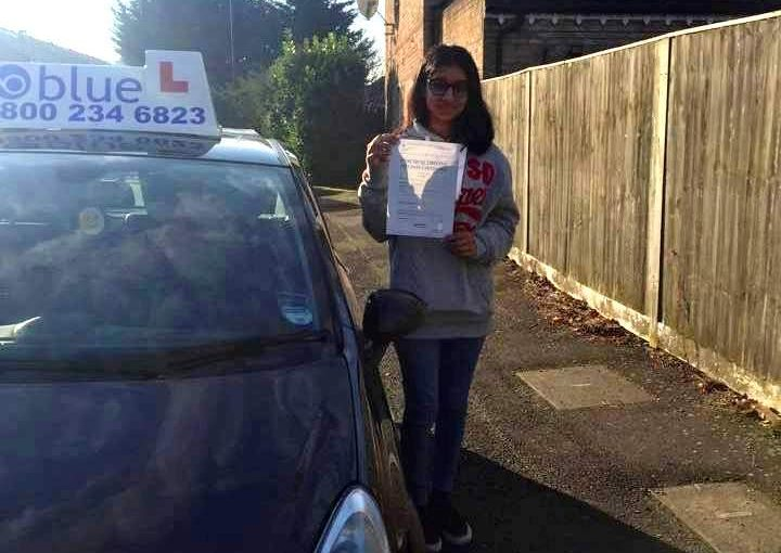 Driving Lessons in Slough for Simran