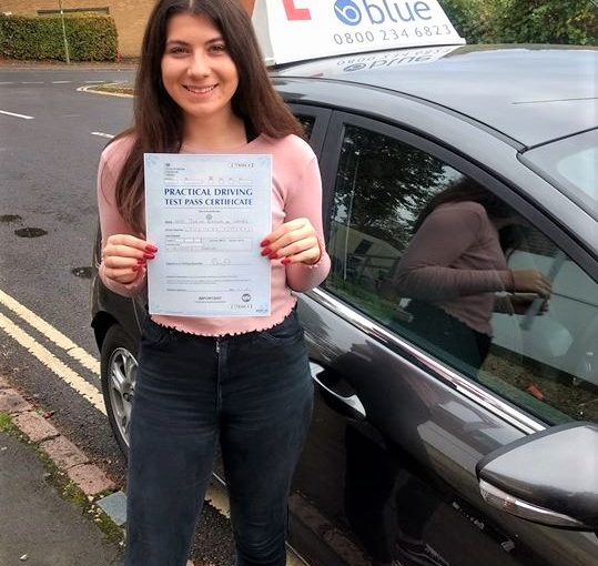 Sindlesham Driving Lessons for Jemima Wenais
