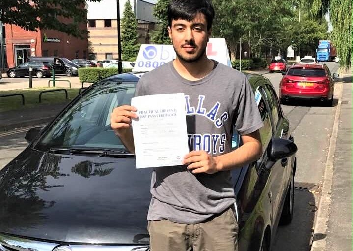 Congratulations to Kashfay of Slough, Berkshire for passing your driving test