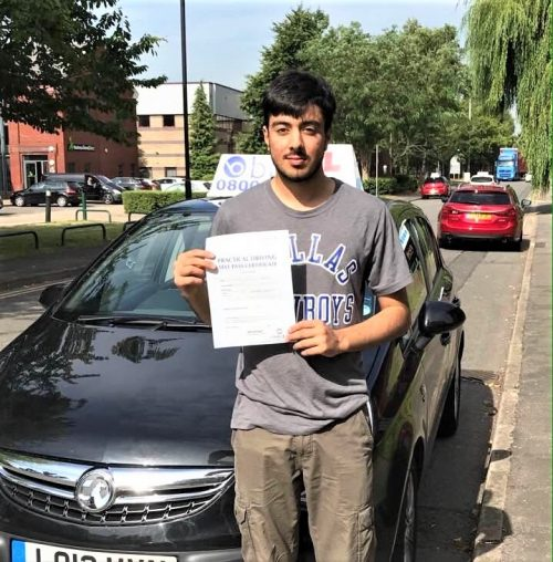 Slough Driving Lessons for Kashfay