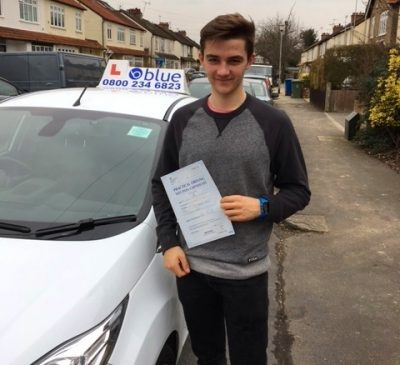 Slough Driving Test for Dan Laughran