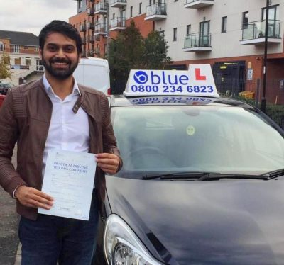 Slough Driving test pass for Farrukh