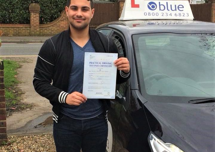 Driving Test Pass for Christian Ferreira