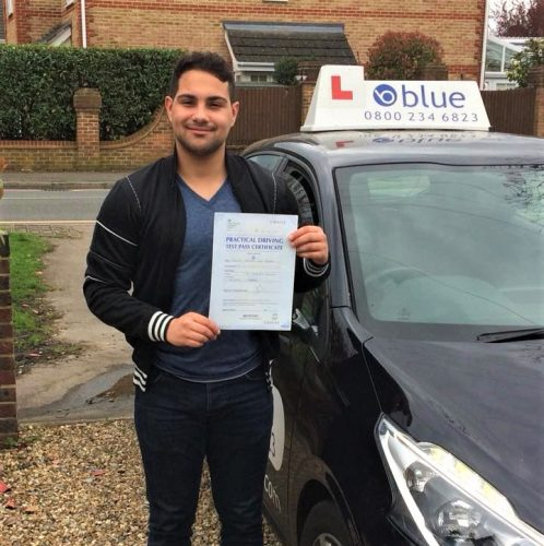 Sunningdale Driving Test Pass Christian Ferreira