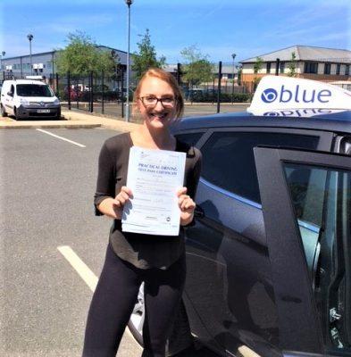 Sunninghill Driving Test Pass for Emily Horner