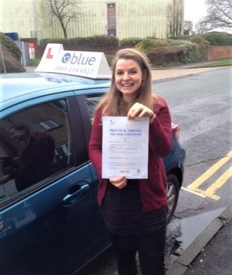 Tilehurst Driving Test for Maria Woodridge