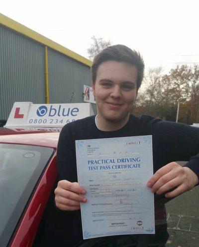 Bracknell driving lessons for Tim