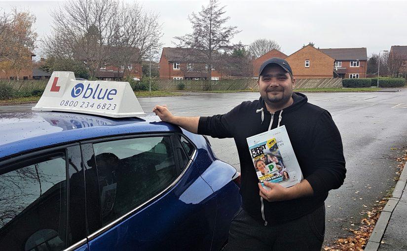 Trowbridge Driving Test Pass for Cezar Dumitru