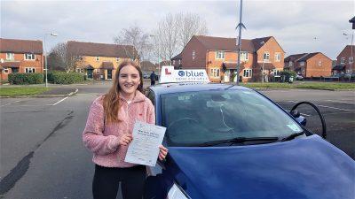 Trowbridge Driving Test Pass for Klara Olsson