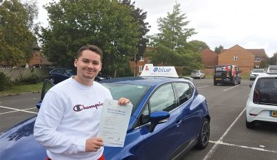 Trowbridge Driving Test Pass for Kyle Maguire