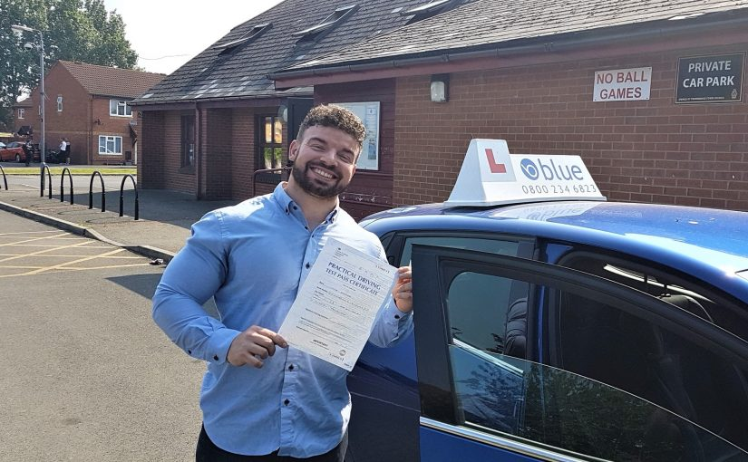 Trowbridge Driving Test Pass for Luke Goerge