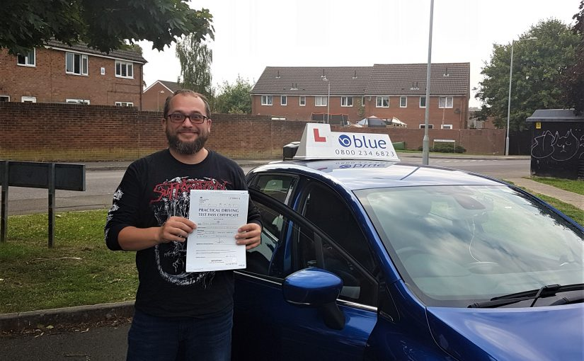 Trowbridge Driving Test Pass for Petru Jurma