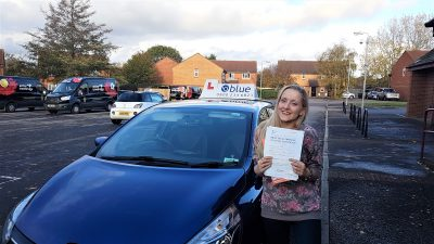 Trowbridge Driving Test pass for Charlotte Johnson