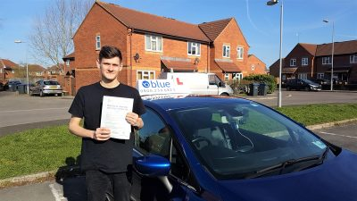Trowbridge Driving Test Pass for Harrison Talbot