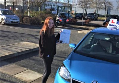 Warfield Driving Lessons for Hannah Di Maida