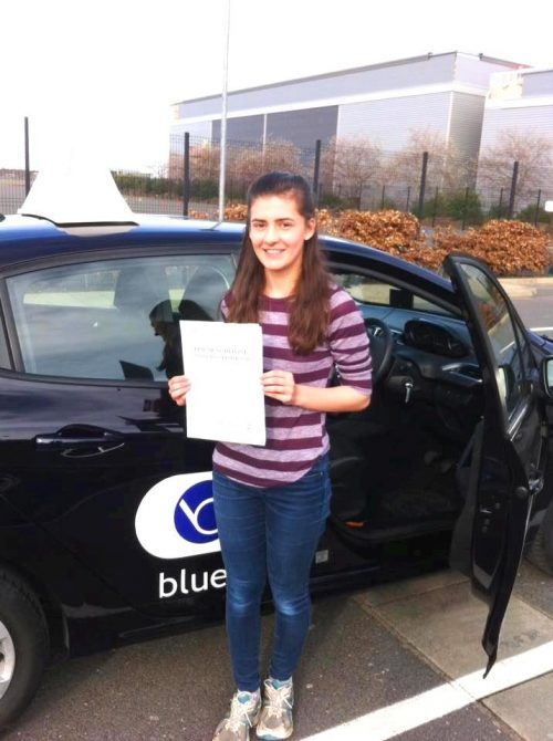 Warfield Driving Lessons for Rachel Lammin