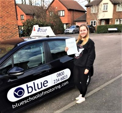 Warfield Driving Lessons for Sarah Overman
