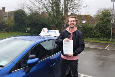 Westbury Driving Test for Harry Bradley
