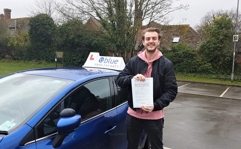 Westbury Driving Test Pass for Harry Bradley