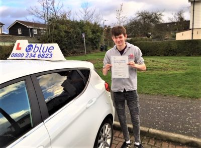 Windsor Berkshire Driving Test pass for Paul Godfrey