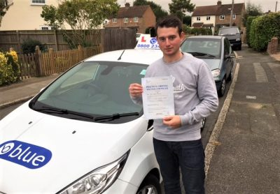 Windsor Driving Lessons for Ben Thomson