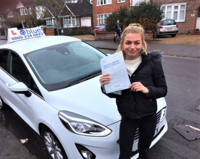 Windsor Driving Lessons for Ellie Doree