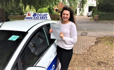 Windsor Driving Lessons for Imani Khesous