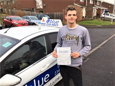 Windsor Driving Lessons for Lewis Barber