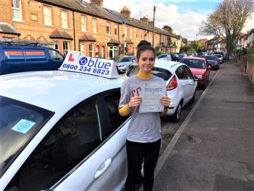 Windsor Driving Lessons for Lily Porter