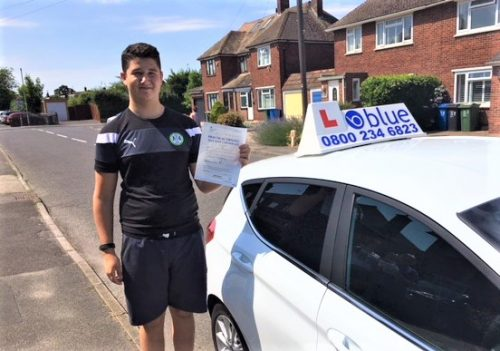 Windsor Driving Test Pass for Max Pettipher