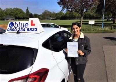 Windsor Driving Lessons for Shara Kathari