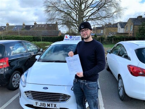 Windsor Driving Test Pass for Ailbhe Frazer
