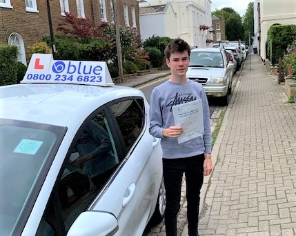 Windsor Driving Test Pass for Ben Wickers
