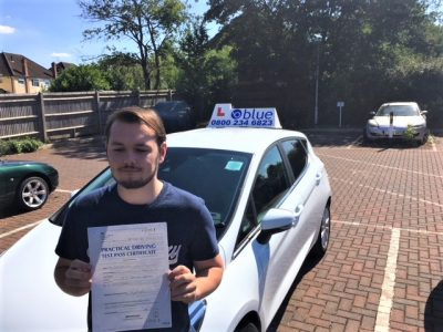 Windsor Driving Test Pass for Conner Smith