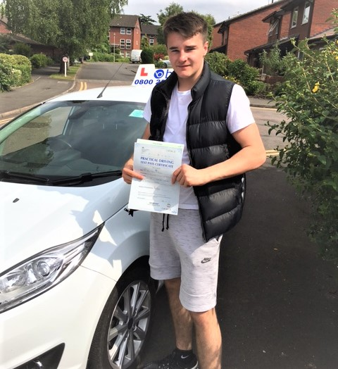 Windsor Driving Test Pass for Eric Curless