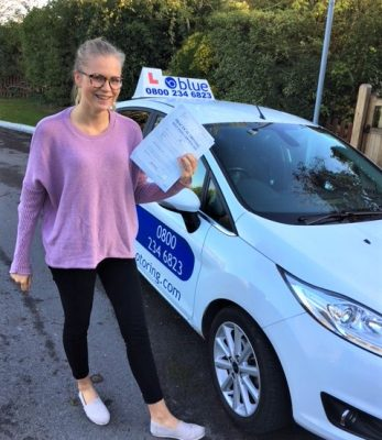 Windsor Driving Test Pass for Florence Livingstone