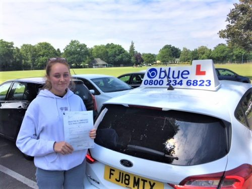 Windsor Driving Test Pass for Jo Hatfield