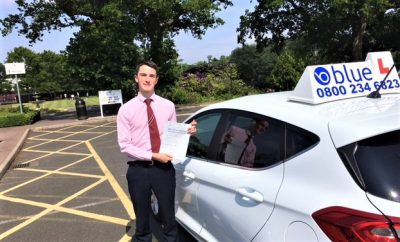 Windsor Driving Test Pass for Josh Wickers