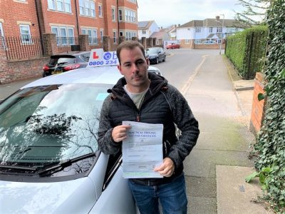 Windsor Driving Test Pass for Mark Taylor