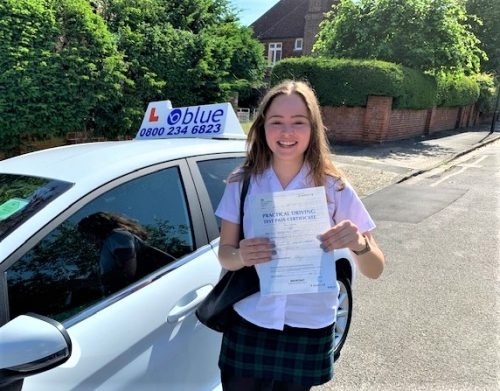 Windsor Driving Test Pass for Robyn Dennis