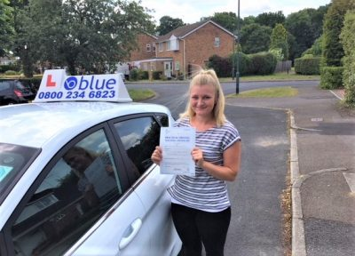 Windsor Driving Test Pass for Veanne Filkins