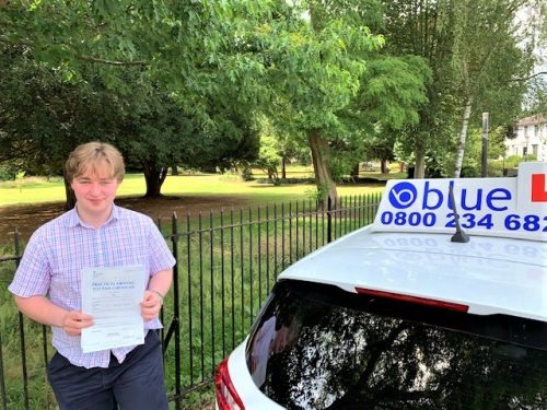 Windsor Driving Test Pass for William Woodward
